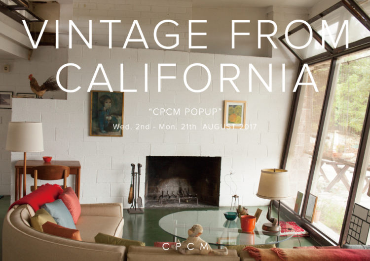 VINTAGE FROM CALIFORNIA ~ CPCM POP UP