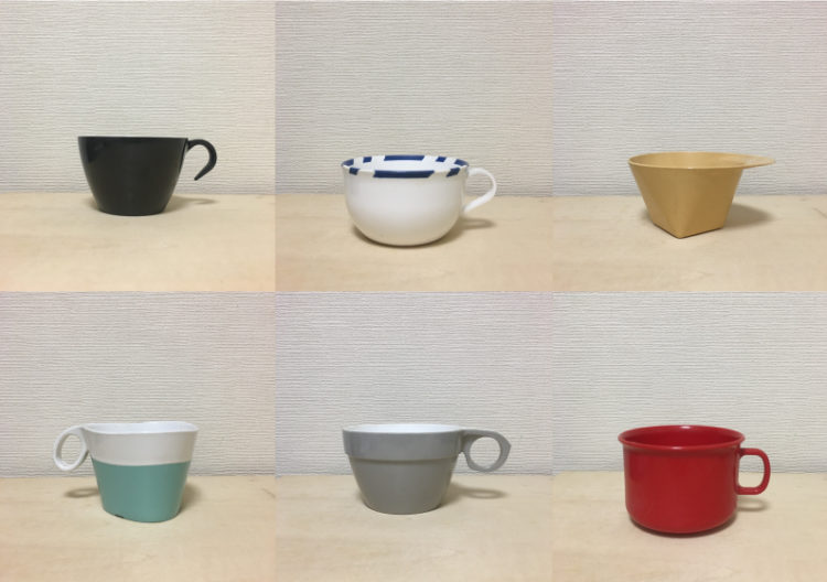 「Airplane Cups」展